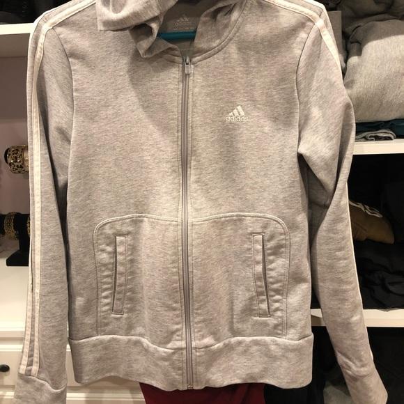 adidas Jackets & Blazers - Adidas zip up with hood